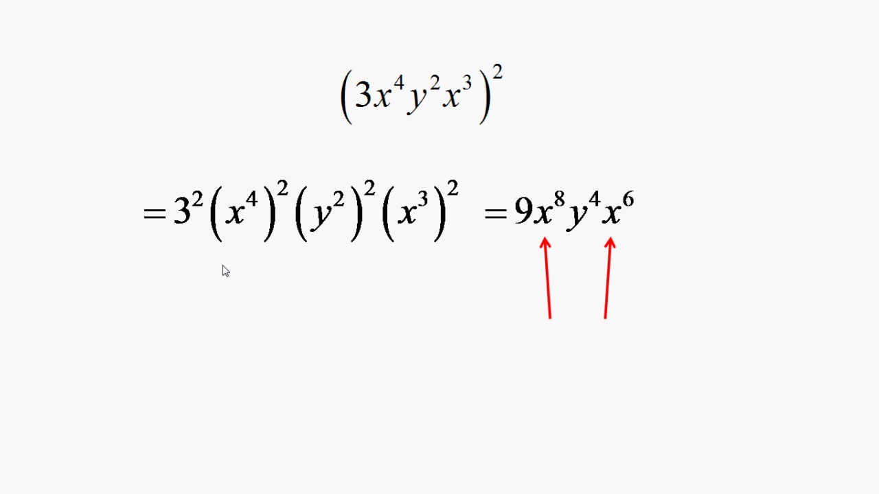 paranthesis variable exponent Simplifying algebraic expressions like terms are those terms which contain the same powers of same variables they can have different coefficients think of parentheses as opaque the stuff inside the parentheses can't see the stuff outside the parentheses.