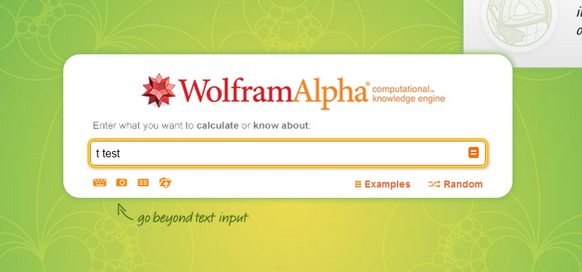 t-test-wolfram-alpha-step-1